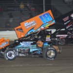 #18 Todd Heurman and #07 Dain Naida compete during 360/305 sprint nra challenge racing action. - Action Photo