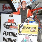 Caleb Griffith 360/305 NRA sprint challenge feature winner. - Action Photo