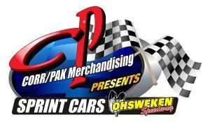 Ohsweken Speedway Corr Pak Corr/Pak Sprint Car Logo