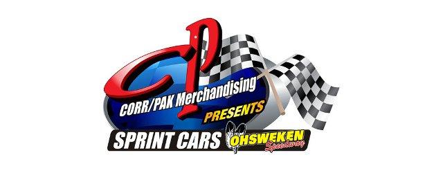 Ohsweken Speedway Corr Pak Corr/Pak Sprint Car Logo Tease