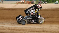 Dinan wins 305 sprint car feature...