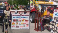 JoJo Helberg and Dave McKnight, Jr. won the Must See Racing Sprint Car and Super Modified races respectively Sunday at Winchester Speedway.