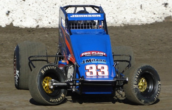 D.J. Johnson. 2nd in USAC Western Classic Points. Photo by Lance Jennings.