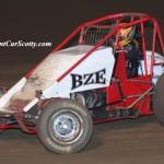 Bud Kaeding. 3rd in USAC/CRA points. Photo by Scott Sheldon / SprintCarScotty.com.