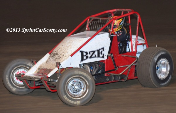 Bud Kaeding. 3rd in USAC/CRA points. Photo by Scott Sheldon / SprintCarScotty.com.