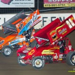 Jared Horstman (#17) racing with Randy Hannagan (#22H). - Mike Campbell Photo