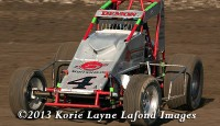 Damion Gardner won the USAC / CRA Sprint Car Series Friday night at Ocean Speedway.   Bud Kaeding, Nic Faas, Matt Mitchell, and Ryan Bernal rounded out the top five.