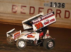 Greg Hodnett. - Rick Rarer / Sprintcarnews.com Photo