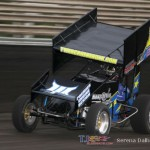 Tyler Groenendyk set 360 quick time at Knoxville Raceway on 8 June 2013. (Serena Dalhamer photo)