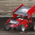 Bronson Maeschen set the fastest time in the 410 class at Knoxville Raceway on 22 June 2013 (Serena Dalhamer photo)