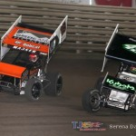 Ian Madsen (18) and Josh Schneiderman (49) (Serena Dalhamer photo)