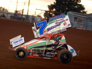 Eric Williams. - Rick Rarer / Sprintcarnews.com Photo