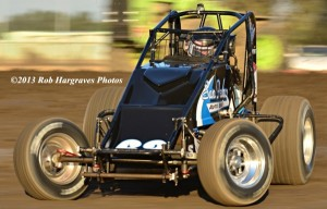 Dennis Howell. 13th in USAC West Coast Sprint Points. Photo by Rob Hargraves.