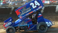 Rico Abreu from Rutherford, California would seize the lead on the second start and would not look back as he put on a clinic.