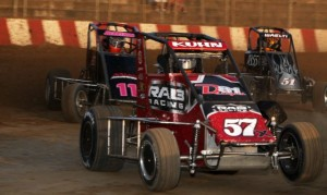 Travis Berryhill (11), Brad Kuhn (57X), and Brandon Waelti (51) (Serena Dalhamer photo)