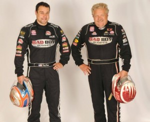 Steve and Kraig Kinser. - image courtesy of TSR