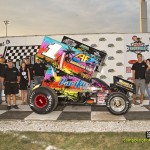 Justin Henderson and Sunby Racing won the best appearing car award. - Mike Campbell / campbellphoto.com