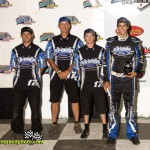 Cole Wood's team won best appearing crew during the 2013 FVP Knoxville Nationals. - Mike Campbell / campbellphoto.com