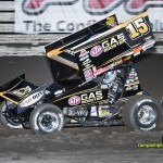 Could Donny Schatz earn a spot into this year's Knoxville Nationals A-Main through the World Challenge?  Schatz is currently slated for Saturday's B-Main. - Mike Campbell Photo