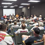 Full house for one of the fan forums at the National Sprint Car Hall of Fame and Museum. - Mike Campbell Photo