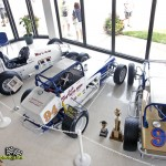 Looking down on the lobby at the National Sprint Car Hall of Fame and Museum. - Mike Campbell Photo