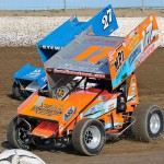 Jared Horstman inside of Beau Stewart. - Brent Pierce Photo