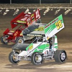 Hud Horton racing with Dennis Yoakam. - Brent Pierce Photo