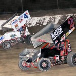 Bobby Clark racing with Brent Gehr. - Brent Pierce Photo