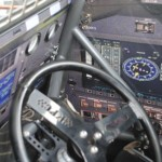 Inside of the cockpit of Roger Crockett's car. - T.J. Buffenbarger Photo