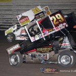 Kerry Madsen (29) and Brian Brown (21) (Serena Dalhamer photo)