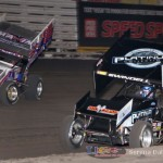Brooke Tatnell (55) and Sammy Swindell (1) (Serena Dalhamer photo)