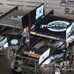 Sammy Swindell (1) and Sheldon Haudenschild (93H) (Serena Dalhamer photo)