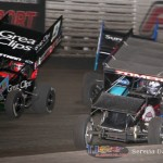 Daryn Pittman (9), Cody Darrah (4), and Dusty Zomer (91) (Serena Dalhamer photo)