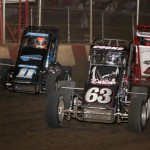 Andrew Felker (11A), Jerry Coons Jr (63), and Zach Daum (5D) (Serena Dalhamer photo)