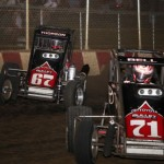 Tanner Thorson (67) and Chris Bell (71) (Serena Dalhamer photo)