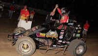 How many USAC National Sprint Car Series victories will Dave Darland have by the end of his career...?