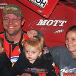 Dustin Dagget with his wife and daughters.  - T.J. Buffenbarger Photo