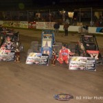 Ricu Abreu and Chris Windom, your feature winners at the 2013 edition of the 4-Crown Nationals. - Bill Miller Photo