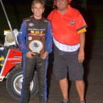 Gage Walker was crowned the USAC Ignite Midget Series Midwest dirt Division Champion. - Bill Miller Photo