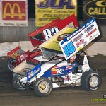 Chris Andrews (#16) racing with Tim Shaffer (#83). - Mike Campbell Photo