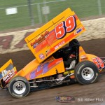 Jac Haudenschild. - Bill Miller Photo