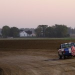 Sunset at Waynesfield Raceway Park. - James McDonald / Apexonephoto