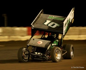 Jeremy Campbell cruised  to season ending victory. Mary Gregory/inthedirtphotos