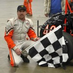 Russ Gamester in Victory Lane. - Bill Miller Photo