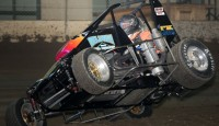 Images from practice day at the Chili Bowl...