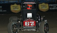How many races will the Keith Kunz team win during Indiana Midget Week?