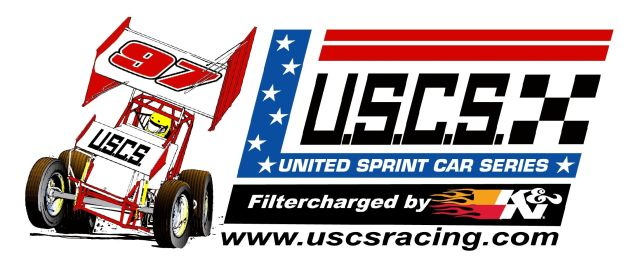 USCS United Sprint Car Series Logo 2014
