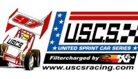 The United Sprint Car Series (USCS) Outlaw Thunder Tour presented by K&N Filters is set to bring its 130+ mile per hour ground pounding winged sprint cars to two paved Carolina oval tracks on Friday, April 25th and Saturday, April 26th .