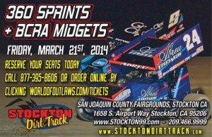 Stockton Dirt Track Flyer