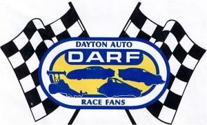darf dayton auto racing fans logo